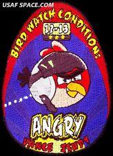 USAF SPECIALIZED PILOT TRAINING CLASS - 2012-13 - ANGRY - BIRD WATCH - PATCH