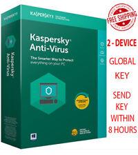 KASPERSKY Anti-Virus Security - 2020 / 2 Devices / 1 Year / Global-Key $9.32$