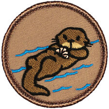 Cool Boy Scout Patrol Patch! - #801The Cartoon Otter Patrol!