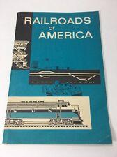 Railroads of America Association American Railroads booklet 1 1963