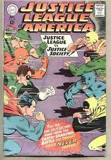 Justice League Of America #56-1967 fn- 1st Earth II Wonder Woman JSA