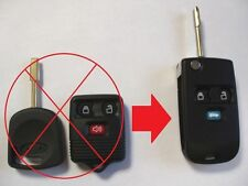 3 button flip key case upgrade for Ford Transit Connect remote fob