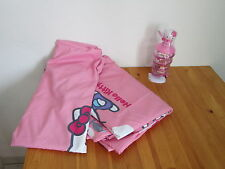 2 tlg Kinderbettwäsche, Becher, Hello Kitty, Katze, rosa, Mädchen, Bettwäsche