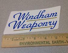 WINDHAM WEAPONRY STICKER GUN SHOOTING L@@K