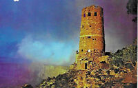 1970's Postcard The Watchtower Grand Canyon National Park Arizona