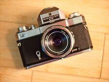 Icarex 35 CS - Zeiss Voigtlander - 2 viewfinders & case - rare - US Based seller