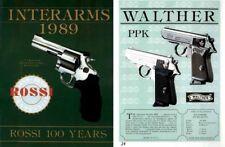 Interarms 1989 Gun Catalog