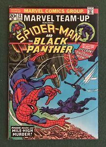 Marvel Team-up #20 Spider-Man & Black Panther  Marvel Comics Bronze Age g/vg