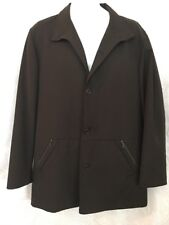 Ermenegildo Zegna Jacket brown overcoat all weather size M (50) US 40