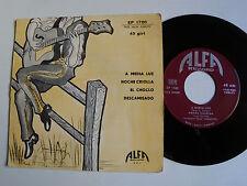 """FORMAZIONE TIPICA MIGUELITO: A media luz (4 tanghi) 7"""" 1957 Italian ALFA EP 1720"""