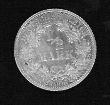 Münzen J 16 1/2 Mark 1906F ss-v