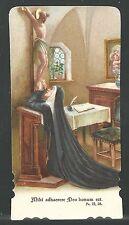 estampa antigua de Santa Teresa santino   holy card image pieuse