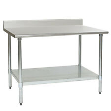 "Eagle Group 60""W x 24""D Budget Series Work Table w/ Stainless Steel Top"