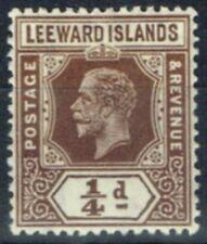 Single George V (1910-1936) Leeward Islands Stamps