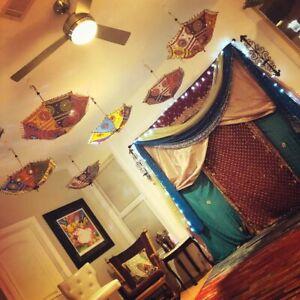 Whoelslale Lot 10 Pcs Bridal Shower Parasol Umbrella Indian Ethnic Wedding