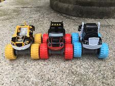 Blaze and The Monster Machines Neon Racers Blaze+Stripe+Cruser 3pcs New Loose