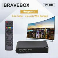 iBRAVEBOX V8 HD(DVB-S2)1080P Digital Satellite Receiver Powervu Bisskey USB WIFI