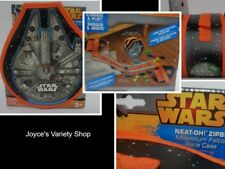 Star Wars Neat-Oh! Zipbin Storage & Play Case NWT Age 3+ Millennium Falcon