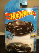 Hot Wheels '16 Bugatti Chiron Factory Fresh Free Shipping Die-Cast Black Vehicle