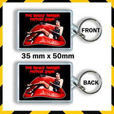 THE ROCKY HORROR PICTURE SHOW TIM CURRY -TRANSVESTITE-KEYRING -KEY CHAIN 35X50m