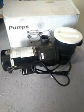 Splapool 1 HP Aboveground Swimming Pool Pump 72729 pool and spa