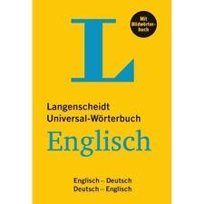 NEU: Langenscheidt. Das neue Universal-Wörterbuch ENGLISCH mit Bildwörterbuch