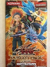 YuGiOh 5D's Duelist Pack Crow 5-card Booster Pack 1st Ed Qty Discount Available