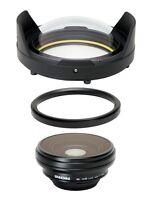 INON UWL-100 28AD  Wide Angle Lens + Dome Lens Unit + m67-AD convertor