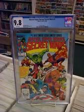 MARVEL SUPER HEROES SECRET WARS #1 CGC 9.8 ~ White Pages