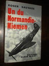 UN DU NORMANDIE-NIEMEN - Roger Sauvage 1959