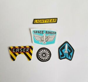 Buzz Lightyear Replacement Sticker Set - BEST QUALITY GUARANTEED