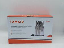Famaid 053722003613 Stainless Knife Acrylic Stand Sharpener 0053722003613 Chef