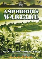 AMPHIBIOUS WARFARE - SCORCHED EARTH- CRITICAL SEABORNE BATTLES OF WWII DVD