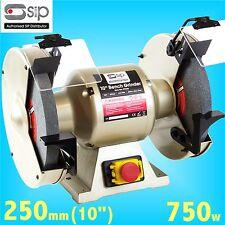 SIP 07645 Professional 250mm 10 Bench Grinder 240v grindstone grinding wheel