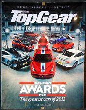 TopGear 251 Porsche,Ferrari 458 Speciale Subscribers Ed Magazine Awards 2013