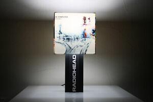 Handmade 'Radiohead' Lamp + Album Cover Lampshade