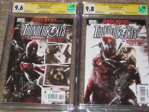Thunderbolts #130 CGC 9.6 SS & #131 9.8 SS Set Mattina Yelena Belova Black Widow