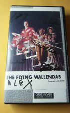 FAITH ON THE LINE  VHS VIDEO THE FLYING WALLENDAS + SIGNED PHOTO BY 6 MEMBERS