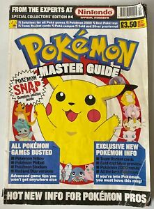 Pokemon Master Guide Special Collectors Edition #4 Vintage Magazine 1998