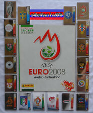 Euro 2008 EM Panini Empty Album vuoto+ complete set completo