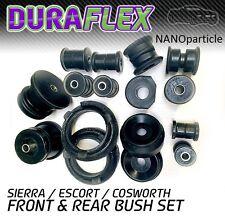 Ford Sierra/ Escort Cosworth Front and Rear Duraflex NANO bush set