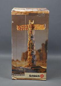 Schleich Wild West Sioux Totem Pole 42012 Native American Figurine NOS Retired