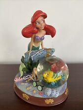Disney Little Mermaid Ariel with Flounder Snowglobe
