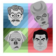 Twilight Zone Rod Serling Pop Art Ltd. Ed. Signed Print by John Lathrop