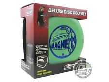 Discraft Deluxe 4-Disc Golf Set - 2 Drivers 1 Midrange 1 Putter + Weekender Bag