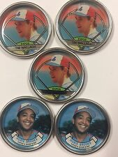 Topps Coins Coin Team Set 1987 1990 Montreal Expos Wallach Brooks