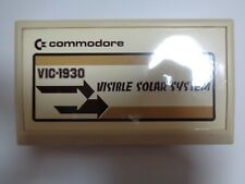 COMMODORE VC-20 / VIC-20 --> VISIBLE SOLAR SYSTEM (VIC-1930) / CARTRIDGE