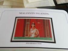 MALDIVE ISLANDS 1997 SG MS2759 GOLDEN WEDDING  MNH
