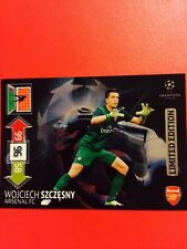 CHAMPIONS LEAGUE ADRENALYN 12/13 LIMITED EDITION SZCZESNY CARD