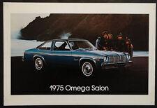 1975 OLDS OMEGA SALON Vintage OLDSMOBILE Dealer Promo LARGE Showroom Poster Sign